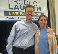 Valerie Young with Jeff Walker